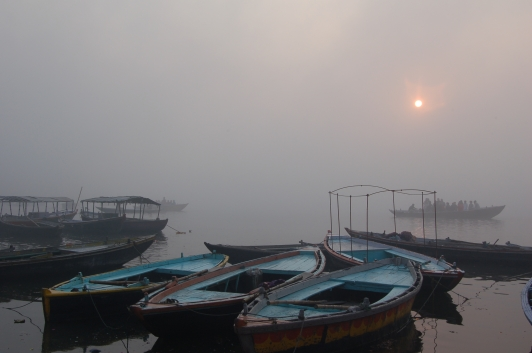 Dawn on the Ganges