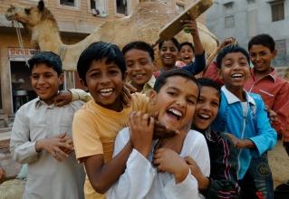 Kids in Jaipur