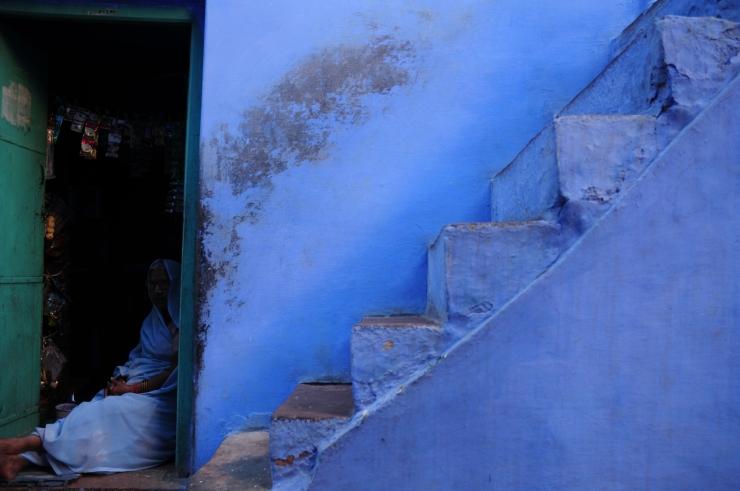 Blue Stairs Jodhpur