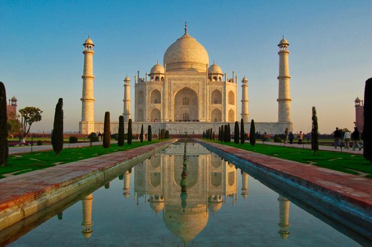 Tah Mahal Morning 1